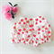 Scented Strawberry Shortie Bloomers - baby, girl, baby, red, Summer, romper