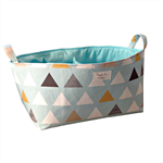 XLarge Nordic Triangles Nappy Caddy - Diaper Caddy - Storage Organiser Bin