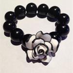 Black & white rose