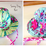 Sunny Day hat - reversible