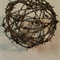 "15cm ""BARBED WIRE SPHERE"""