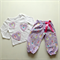 Size 2 Girl's Ballerina  Lounge Pants Set - One of a Kind
