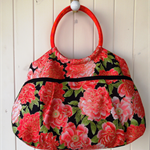 Classic Vintage Style  Handbag. 4 Large Pockets. Mother's Day.