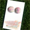 Buy 3 get 4th FREE 19mm Fabric Button Earrings