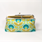 Green primrose large clutch purse