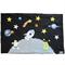 Space Playmat, Stars, Planets, Felt Play mat Game