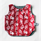 Twig Reversible Vest - Red Astronauts / Grey Denim, size 1