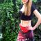 cherry blossom print, skirt for girls, skirts for teens, skirts for women, red