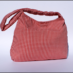 Red Gingham Shoulder Bag
