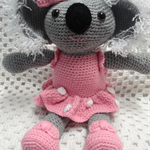 Koala, Girl Gift, Animal Softie, Crocheted Toy