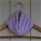 crochet cowl | mauve | baby shower gift | birthday gift | baby - 10+ years