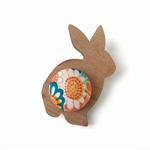 Kimono Rabbit Brooch - Daisy
