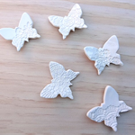 Butterfly wall art. Wall decor. Wall decoration. Baby room. White butterflies