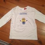 Boy's personalised Minion T-Shirt