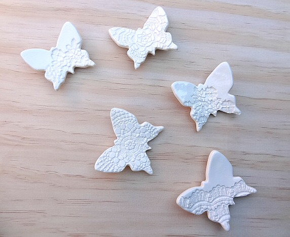 Butterfly wall art. Wall decor. Wall decoration. Baby room. White ...
