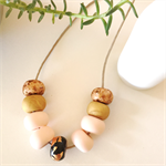 Naked Blush - Clay Pod Necklace