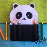 Panda Crayon/Pencil Holder