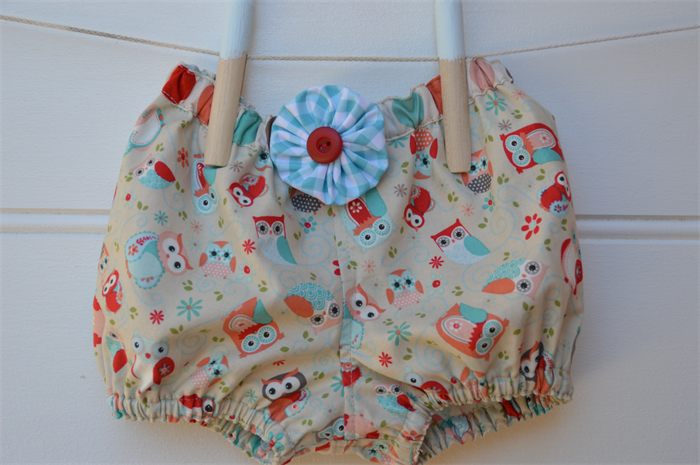 Owl Baby Gifts Australia : Girls bloomers baby gift owls red blue nappy cover