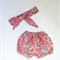 Spring Fling Shortie Bloomers and Head Wrap set.