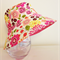 Girls summer hat in delightful floral pattern