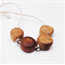 Wooden Beaded Necklace