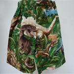 "Sizes 3,4,5 & 6 - ""Jurasic World"" shorts"
