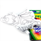 Colour Me Dragon with Washable Markers