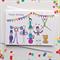 Happy Birthday Circus Card. Free Post.