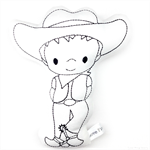 Colour Me Cowboy Toy