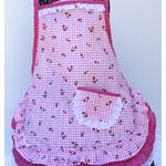 Girls apron Strawberry Jam