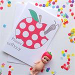 Happy Birthday Apple Card. Free Post.