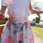 Suspender Skirt 'Sandie' - Sizes: 5