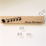 Merry Christmas toblerone wrapper