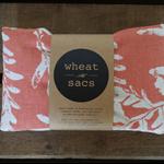 wheat sac™ - coral bracken on blockprint