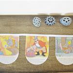 Dumbo Bunting Golden Book Wall Hanging Disney Elephant Animal Children