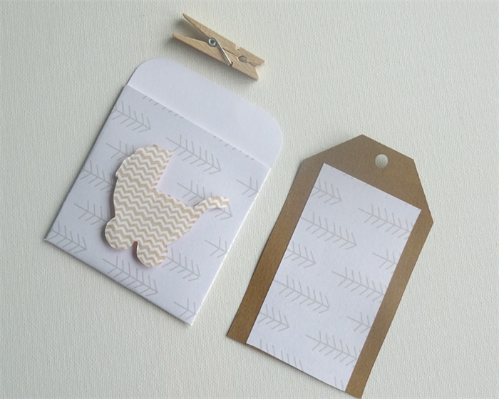 Gift Tag Swing Tag Baby Shower Card Baby Shower Gift Card