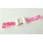 """Pink Leopard"" Headband"