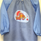 Art smock for 5 - 8 year old - cement truck.