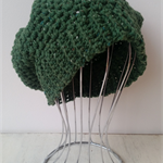 French style crocheted beret
