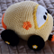 Herbie the crochet toy Volkswagen Beetle by CuddleCorner: Car, washable, unisex