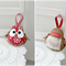 Personalise your Christmas decorations, name embroidery, custom made