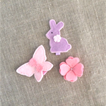 ANY 3 designs hair clips pack, value pack, free postage, custom