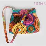 Sunburst Hobo style handbag