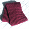 Pure Wool Loop Scarf, Gift for Her / Him, Soft, Warm, Shiraz / Maroon