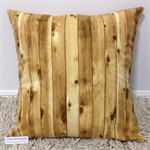 Timber slat cushion cover