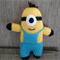 Knitted minions toy