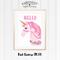 Pink Unicorn A4 Print