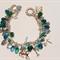 Green Charm Bracelet