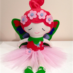 Little Miss Flower Fairy doll