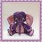 Purple Pink Elephant Softie